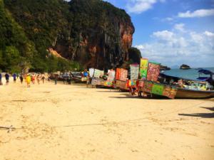 Phra Nang Beach, Railey, Ao Nang, Krabi Province, Thailand