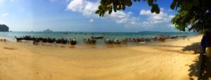 Long Tail Boats, Ao Nang Beach, Ao Nang, Krabi Province, Thailand