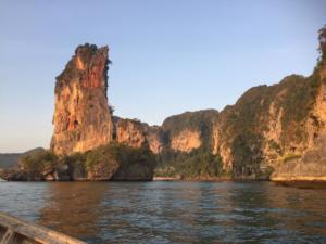 Sea Cliffs, Ao Nang, Krabi Province, Thailand