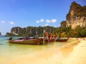 Railey west beach, Ao Nang, Krabi Province, Thailand