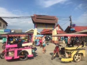 Local Taxi, Ko Lanta Pier, Krabi Province, Thailand