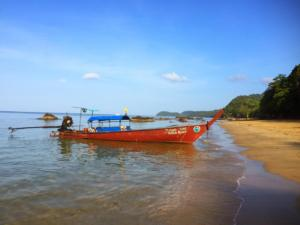 Jungle Hill, Long Tail Boat, Ko Jum, Krabi Province, Thailand