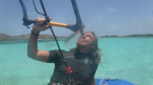 Pelican bay, kite surfing
