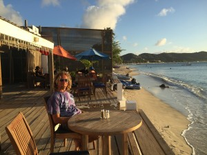 The Edge Beach Bar, Grand Anse Bay, Grenada, Caribbean