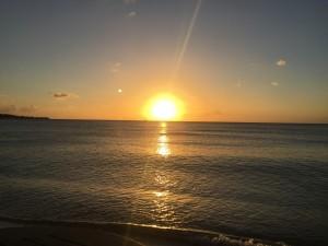 Sunset Grenada