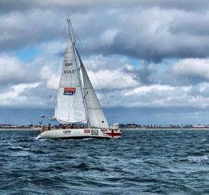 Sail training on the Solent